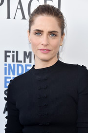 Amanda Peet pulled her hair back into a fuss-free ponytail for the 2017 Film Independent Spirit Awards.