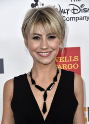 Chelsea Kane kept it casual yet stylish with this layered razor cut at the 2017 GLSEN Respect Awards.