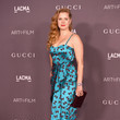 Amy Adams in a silky printed number
