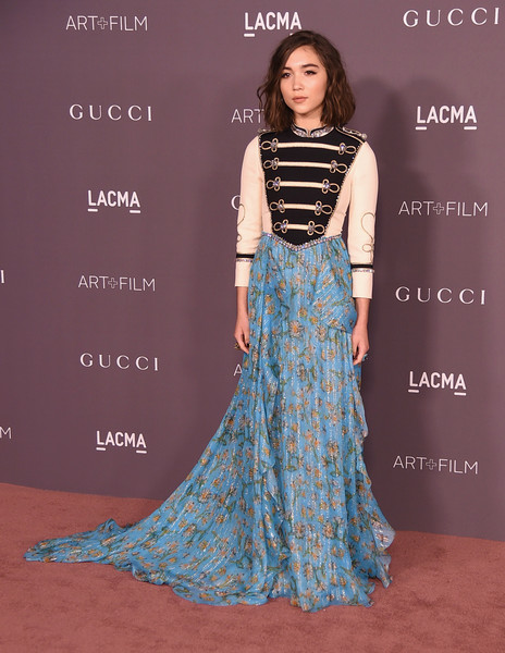 Rowan Blanchard in an eclectic, contrasting look