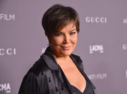 Kris Jenner looked breezy with her short 'do at the 2017 LACMA Art + Film Gala.