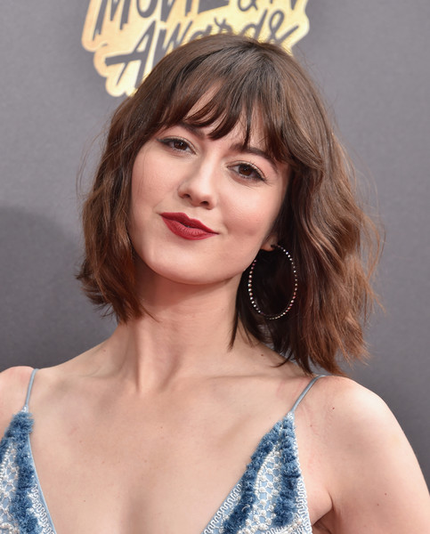 More Pics of Mary Elizabeth Winstead Short Wavy Cut (1 of 13) - Mary Elizabeth Winstead Lookbook - StyleBistro
