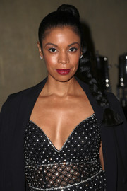Susan Kelechi Watson styled her hair into a tight braid for the TCA Awards.