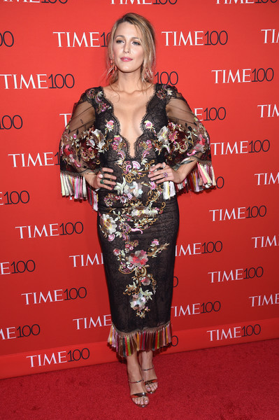 In Marchesa At The 2017 Time 100 Gala