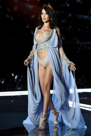 This Grecian-inspired number must be one of the most glamorous coverups we've seen.