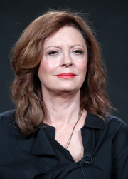 Susan Sarandon kept it classic with this curly style at the 2017 Winter TCA Tour.