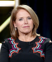 Katie Couric attended the 2017 Winter TCA Tour wearing her usual bob.