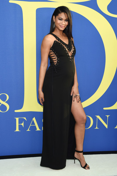 More Pics of Chanel Iman Strappy Sandals (1 of 2) - Chanel Iman Lookbook - StyleBistro