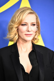 Cate Blanchett kept it classic with this curly bob at the 2018 CFDA Fashion Awards.