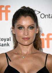 Laetitia Casta sported a wavy ponytail at the TIFF premiere of 'A Faithful Man.'