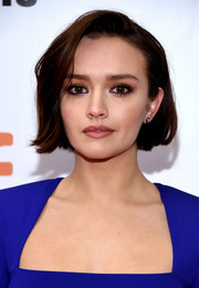 Olivia Cooke wore her hair in a cute bob at the 2018 TIFF premiere of 'Life Itself.'