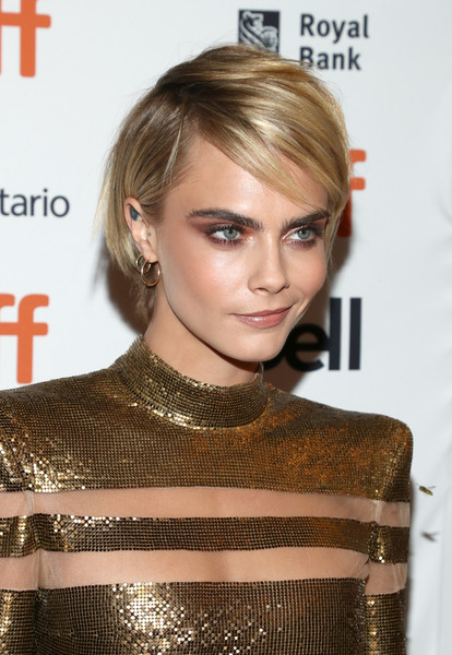 More Pics Of Cara Delevingne Messy Cut 1 Of 6 Short Hairstyles