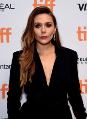 Elizabeth Olsen looked beautiful with her flowing waves at the TIFF premiere of 'Sorry for Your Loss.'