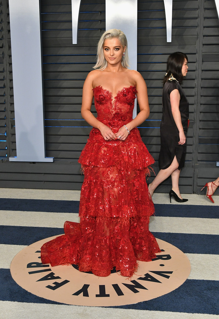 Bebe Rexha The Best Dressed At The 2018 Oscars After