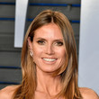Heidi Klum's Face-Framing Layers