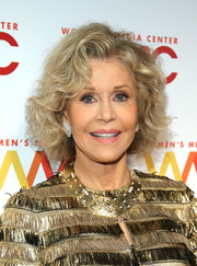 Jane Fonda attended the 2018 Women's Media Awards wearing her signature curled-out bob.
