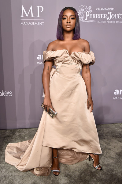 More Pics of Justine Skye Off-the-Shoulder Dress (1 of 2) - Dresses & Skirts Lookbook - StyleBistro