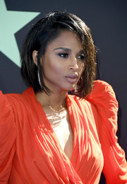 Ciara wore her hair in a wet-look bob at the 2019 BET Awards.