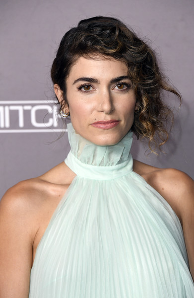 Nikki Reed went for a romantic side-swept updo at the 2019 Baby2Baby Gala.