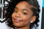 Marsai Martin Pinned Up Ringlets