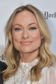Olivia Wilde looked boho-glam with her center-parted waves at the 2019 Gotham Independent Film Awards.