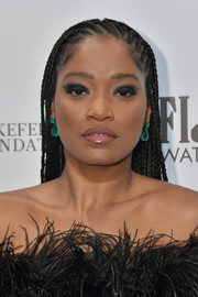 Keke Palmer attended the 2019 Gotham Independent Film Awards wearing her hair in long cornrows.