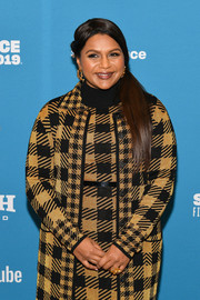 Mindy Kaling wore a cute gold flower ring at the Sundance Film Festival premiere of 'Late Night.'