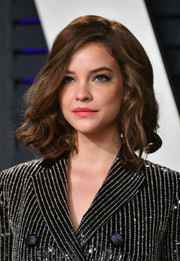 Barbara Palvin looked adorable with her high-volume curls at the 2019 Vanity Fair Oscar party.