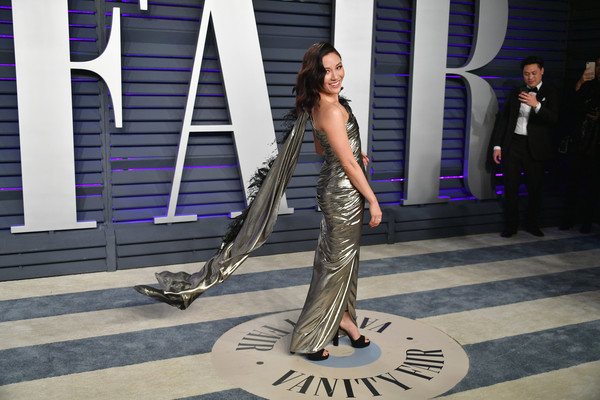 More Pics of Constance Wu Platform Sandals (2 of 5) - Constance Wu Lookbook - StyleBistro [oscar party,vanity fair,fashion,dance,leg,event,fashion design,photography,model,fashion model,haute couture,performance,beverly hills,california,wallis annenberg center for the performing arts,radhika jones - arrivals,radhika jones,constance wu]
