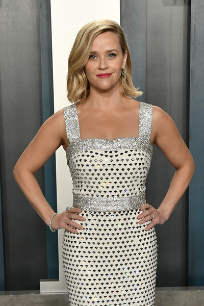 More Pics of Reese Witherspoon Beaded Dress (3 of 7) - Beaded Dress Lookbook - StyleBistro [clothing,dress,blond,fashion model,cocktail dress,lady,beauty,fashion,hairstyle,long hair,radhika jones - arrivals,radhika jones,reese witherspoon,beverly hills,california,wallis annenberg center for the performing arts,oscar party,vanity fair,radhika jones,wallis annenberg center for the performing arts,vanity fair,oscar party,celebrity,academy awards,party,actor,photograph,model]