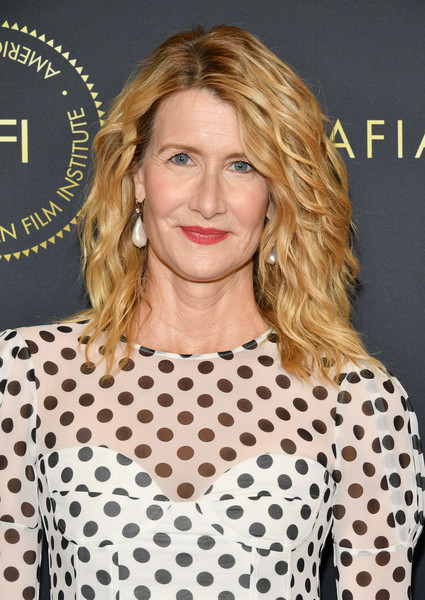 Laura Dern looked fab with her piecey waves at the 2020 AFI Awards.