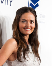 Danica McKellar looked sweet and lovely wearing this gently wavy half-up 'do at the Fulfillment Fund Stars Benefit Gala.
