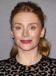 Bryce Dallas Howard wore a messy-cute ponytail at the Hollywood Film Awards.