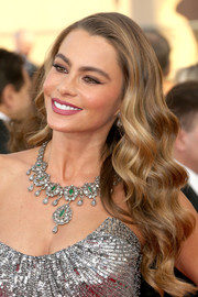 Sofia Vergara was gloriously coiffed with long, luxurious waves during the SAG Awards.