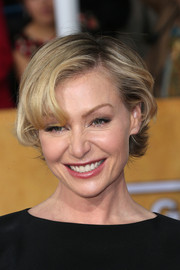 Portia de Rossi wore a sweet version of the layered razor cut at the 2014 SAG Awards.