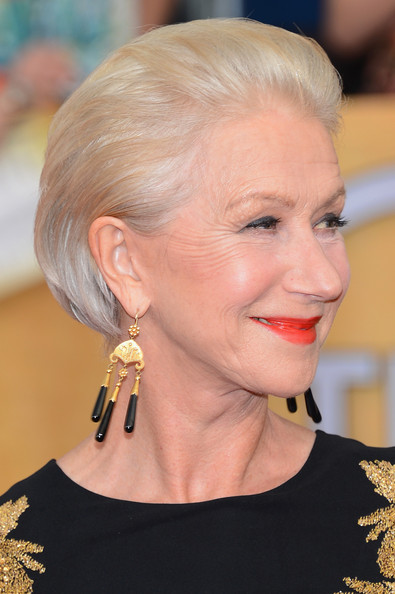 More Pics of Helen Mirren Bob (1 of 22) - Helen Mirren Lookbook - StyleBistro
