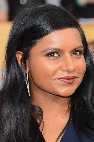 More Pics of Mindy Kaling Cuff Bracelet (1 of 7) - Bracelets Lookbook - StyleBistro [hair,face,eyebrow,hairstyle,black hair,lip,chin,beauty,nose,forehead,arrivals,mindy kaling,screen actors guild awards,los angeles,california,the shrine auditorium]