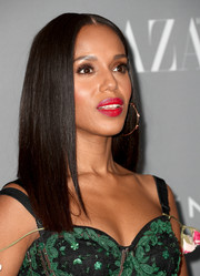 Kerry Washington showed off a perfectly sleek 'do at the Costume Designers Guild Awards.
