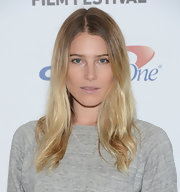 Dree Hemingway looked au naturale at the 20th Hamptons Internation Film Festival with undone ombre locks.