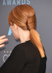 Bryce Dallas Howard gave us serious hair envy with this sculptural ponytail at the Critics' Choice Awards.
