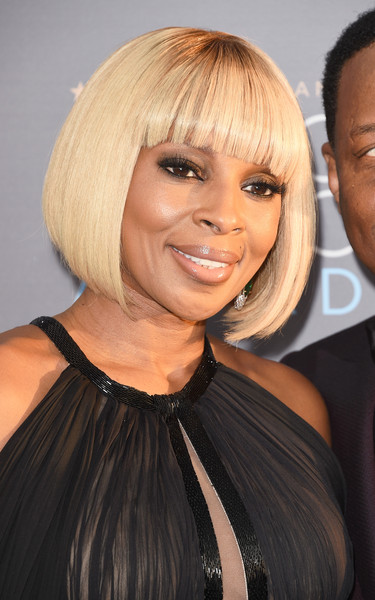 More Pics Of Mary J Blige Bob 6 Of 14 Short Hairstyles