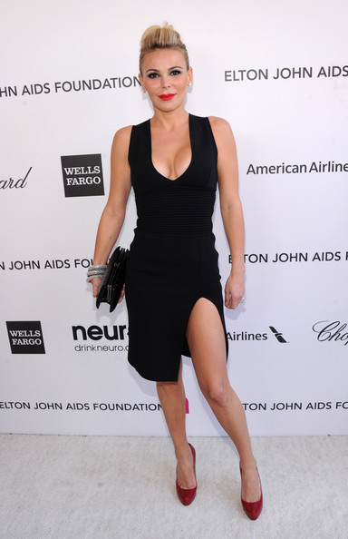 Diana Jenkins at Elton John's 2013 Oscars Party