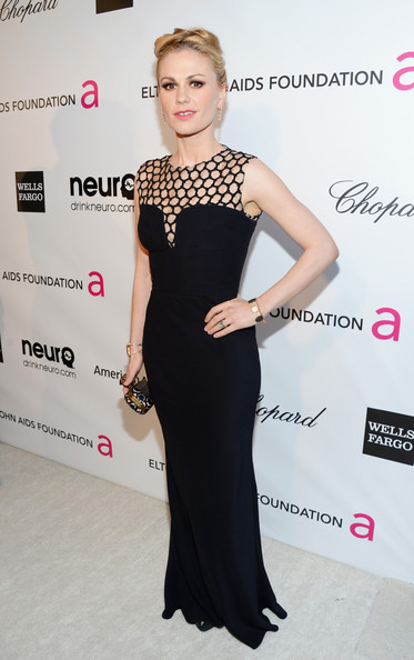 Anna Paquin Wore Alexander McQueen at Elton John's 2013 Oscars Party