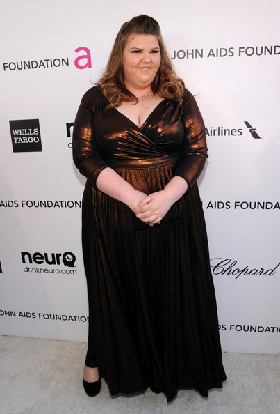 Ashley Fink at Elton John's 2013 Oscars Party