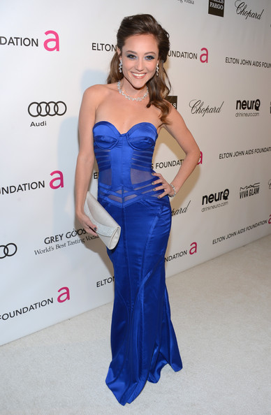 Lauren C. Mayhew at Elton John's 2013 Oscars Party