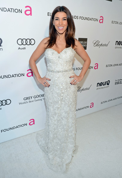 Adrianna Costa at Elton John's 2013 Oscars Party