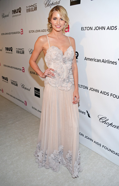 Lena Gercke at Elton John's 2013 Oscars Party