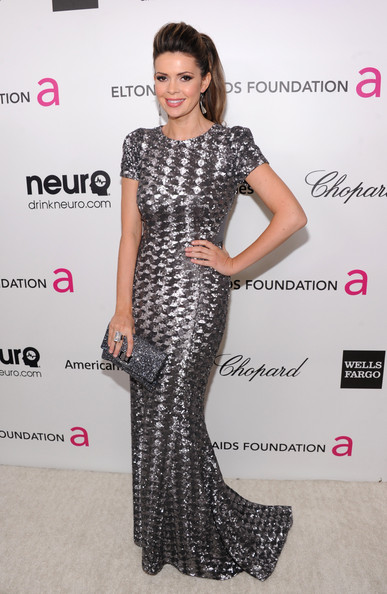 Carly Steel at Elton John's 2013 Oscars Party
