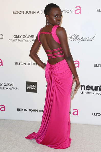 More Pics of Danai Gurira Cutout Dress (1 of 8) - Cutout Dress Lookbook - StyleBistro