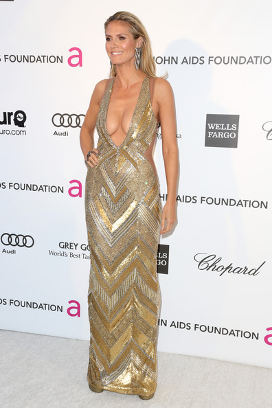More Pics of Heidi Klum Evening Dress (1 of 19) - Heidi Klum Lookbook - StyleBistro